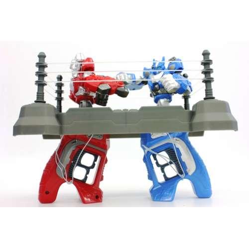 Игра для двоих-трансформеры на арене Boxing King