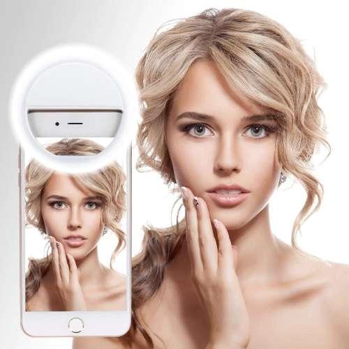 Светодиодное кольцо для селфи Selfie Ring Light с USB