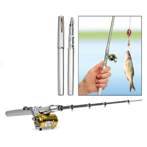 Карманная удочка FISHING ROD IN PEN CASE