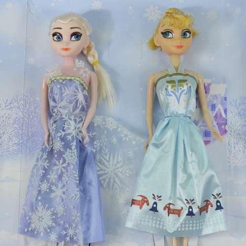 Принцессы Анна и Эльза, набор из 2 кукол