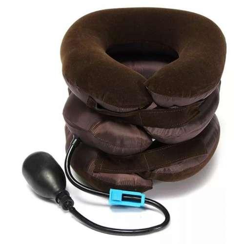 Подушка ортопедическая надувная для шеи