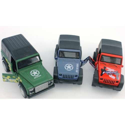 Инерционная машинка Die Cast Car на батарейках