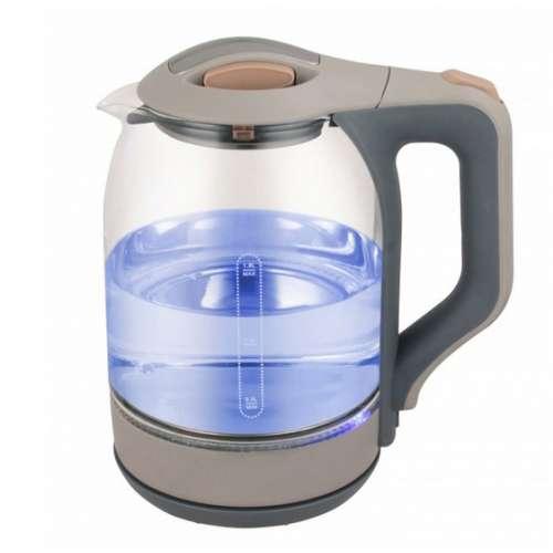 Электрический чайник 1.8 л стеклянный с подсветкой ML-993