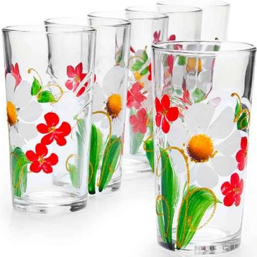 Бокалы, фужеры, вазы
