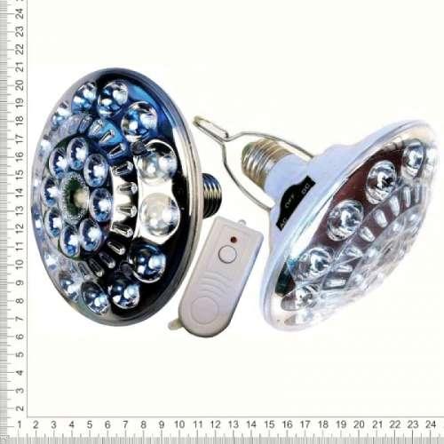 Лампа аварийного освещения светодиодная аккумуляторная JL-678 21 диод с пультом ДУ