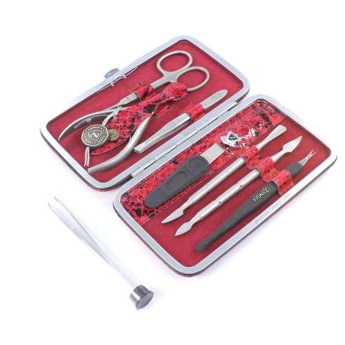 Маникюрный набор профессиональный Zinger 201-SM (7 предметов)