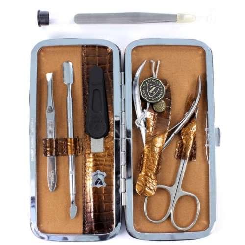 Маникюрный набор Zinger (Зингер) в футляре (5 инструментов) 501-S