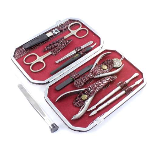 Маникюрный набор профессиональный Zinger 804-SM (10 предметов)