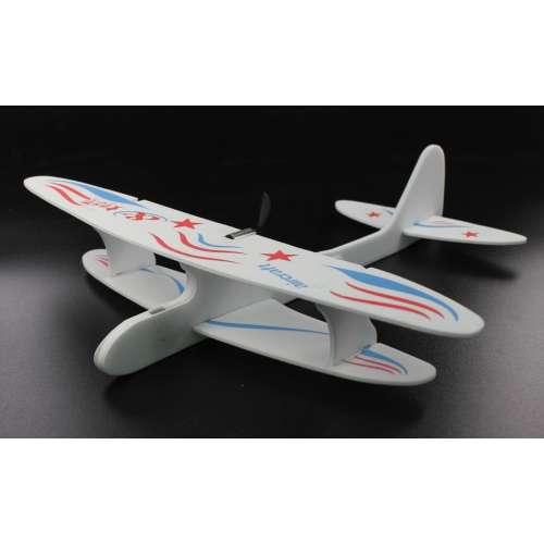 Метательный планер Самолет с моторчиком