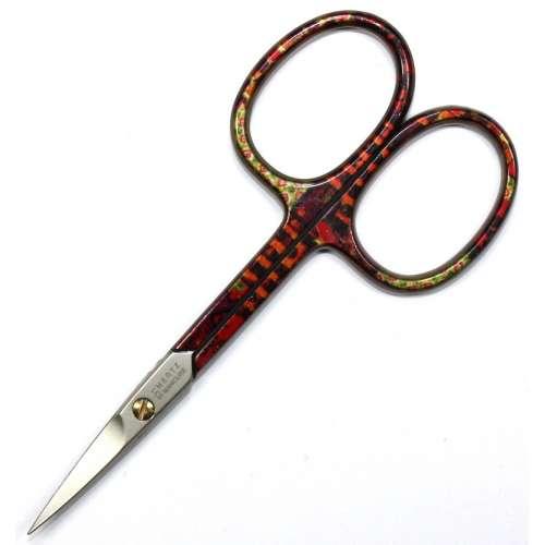 Ножницы маникюрные для кожи Mertz 631-C загнутые цветные