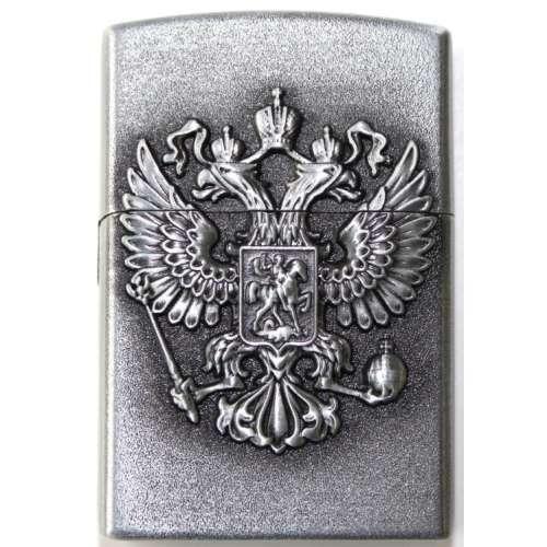 Зажигалка газовая кремниевая сувенирная Герб РФ