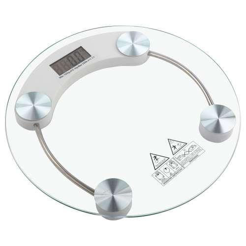 Весы напольные стеклянные KH-2003