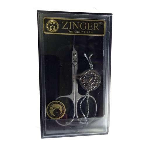 Ножницы маникюрные для кутикулы Zinger SH-SALON Professional 1303-PB (загнутые, качество Premium, ручная заточка, подарочная упаковка)