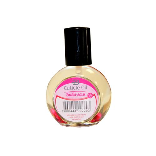Масло минеральное для кутикулы Bohemia Cosmetics Бабл-гам 16 мл.