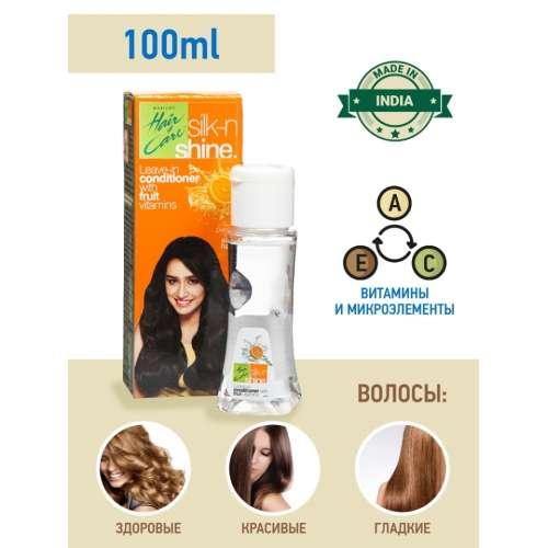 "Масло-кондиционер для волос Parachute ""Силк-н-Шайн"" / Hair & Care Silk n Shine Hair Conditioner, 100 мл."