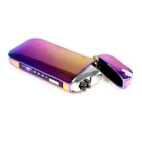 Зажигалка USB плазменная две дуги S358