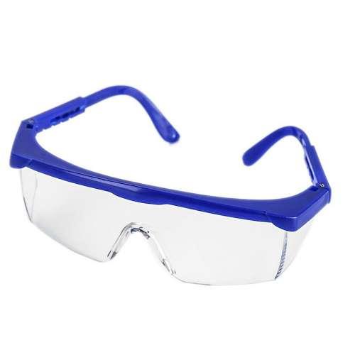 Очки защитные с синими дужками
