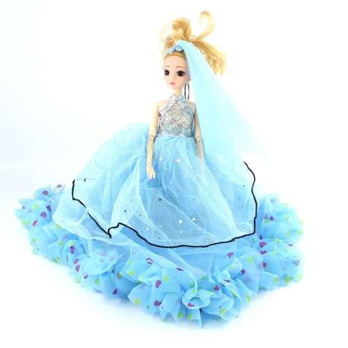 Кукла-брелок в платье большая 40 см