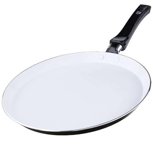 20159-1 Сковорода блинная ЧЕРНАЯ (24см) керам/покр MB ал(х12)