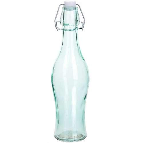 27823-2 Бутылка 0,500 л стекло с крышкой ЗЕЛЁНАЯ LORAINE