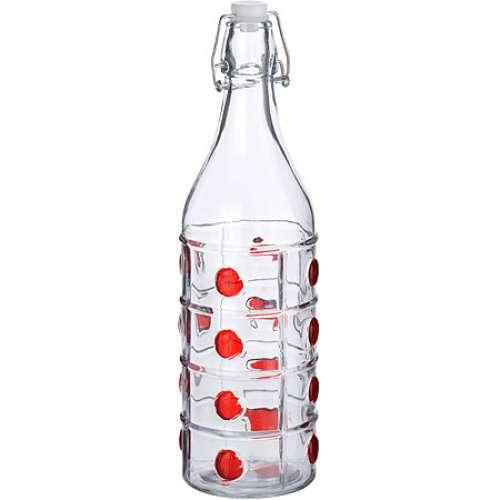 27073 Бутылка 1,2 л стекло КРАСНАЯ MB (х12)
