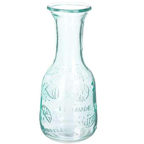 27812-2 Графин стеклянный 1 литр ЗЕЛЁНЫЙ LORAINE