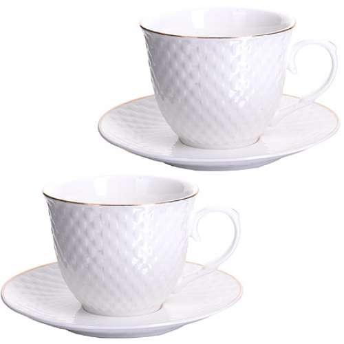 26507-1 Чайная пара 4 предмета 220мл LR (х12)