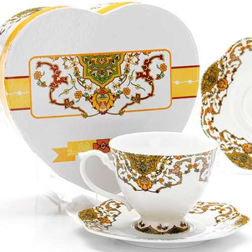 26617 Чайная пара 4пр (чашка180мл+блюдце) LR (х16)