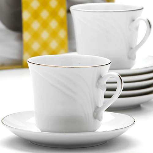 25615 Чайный набор 12пр 220мл в под/упак LR (х8)