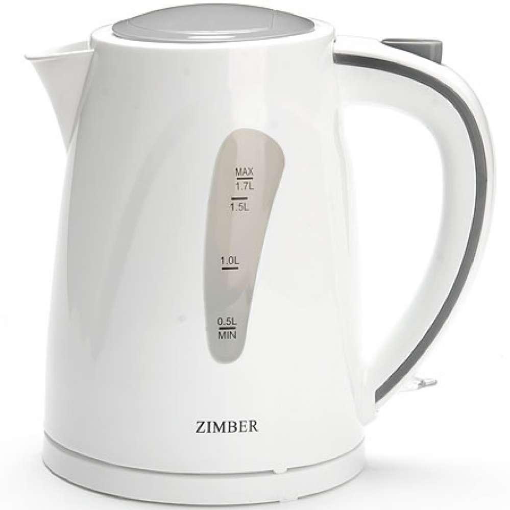 11109 Чайник спираль 1,7л пласт/кор 2200Вт ZM (х6) оптом