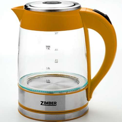 10819 Эл.чайник 1,8л.ZM стек.2000Вт с подсвет.(х6)