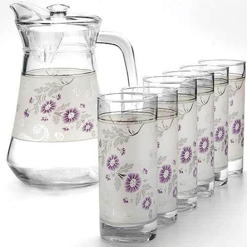 24067 Набор стаканов 6шт+графин 7 пр. LR LR (х6)