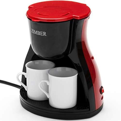 10980 Электро-кофеварка 240мл 450В 2 чашк ZIMBER