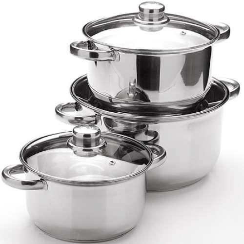 25753 MB Набор посуды 6пр с/кр 2+2,9+4,9л (х4)