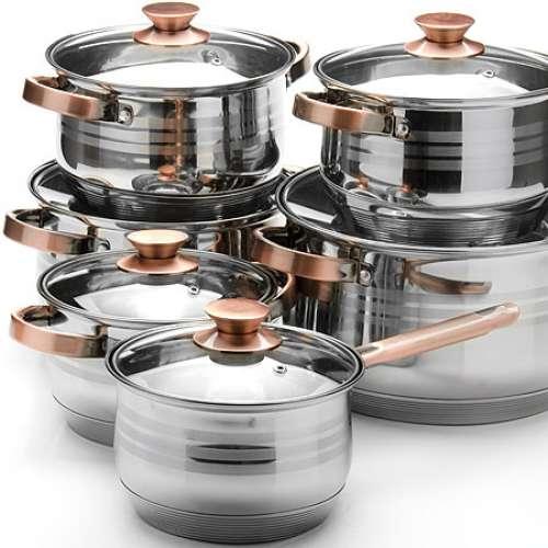 26043 Наб/посуды 12пр 2,1+2,1+2,9+2,9+6,6+8л.MВ (х2)