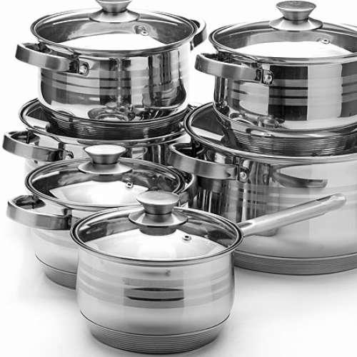 26044 Наб/посуды 12пр 2,1+2,1+2,9+2,9+6,6+8л.MB (х2)