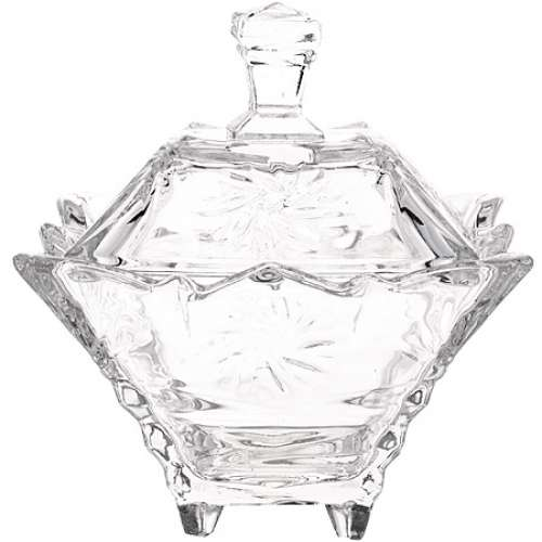 7075 Конфетница стекло (х24)