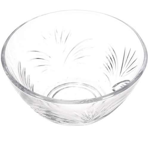 689 Набор стеклянных салатников 6 штук