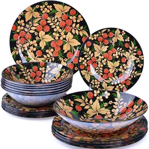27708 Набор стеклянной посуды 19 пр LR (х2)