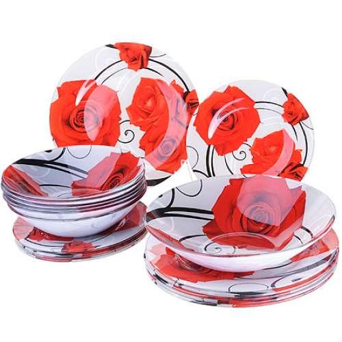 28330 Набор стеклянной посуды 19 пр LR (х2)