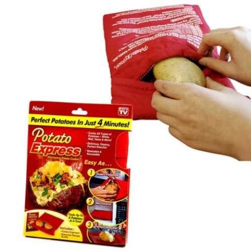 Мешочек для запекания картофеля в микроволновке Potato Express оптом