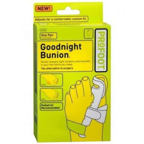 Бандаж-фиксатор для лечения деформации большого пальца на ноге Goodnight Bunionоптом